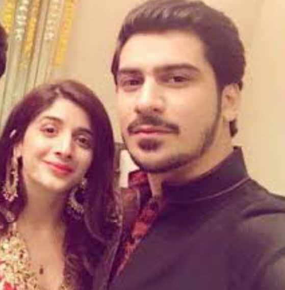 Aamish Azhar with his Girlfriend