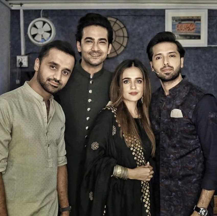Sumbul Iqbal with her Co-artist