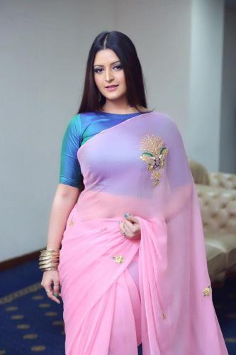 Pori Moni saree fashion